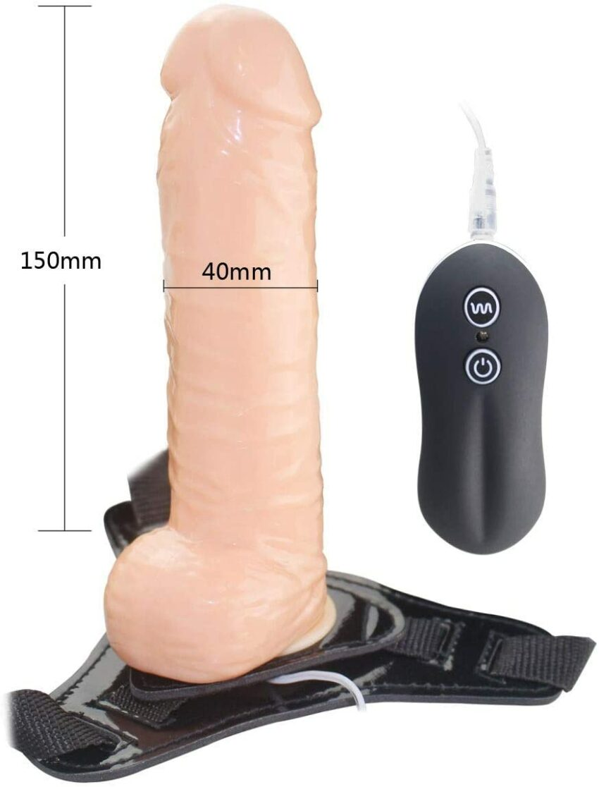 Aphrodisia 7 Inch 10-Speed Harness Realistic Dong