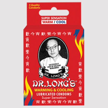 Dr. Long's Warming & Cooling Lubricated Condoms