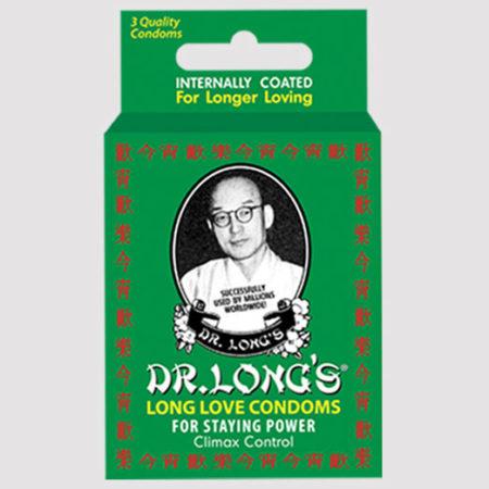 Dr. Long's Long Love Condoms Climax Control