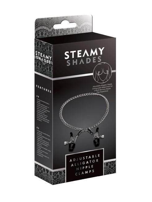 Steamy Shades Adjustable Alligator Nipple