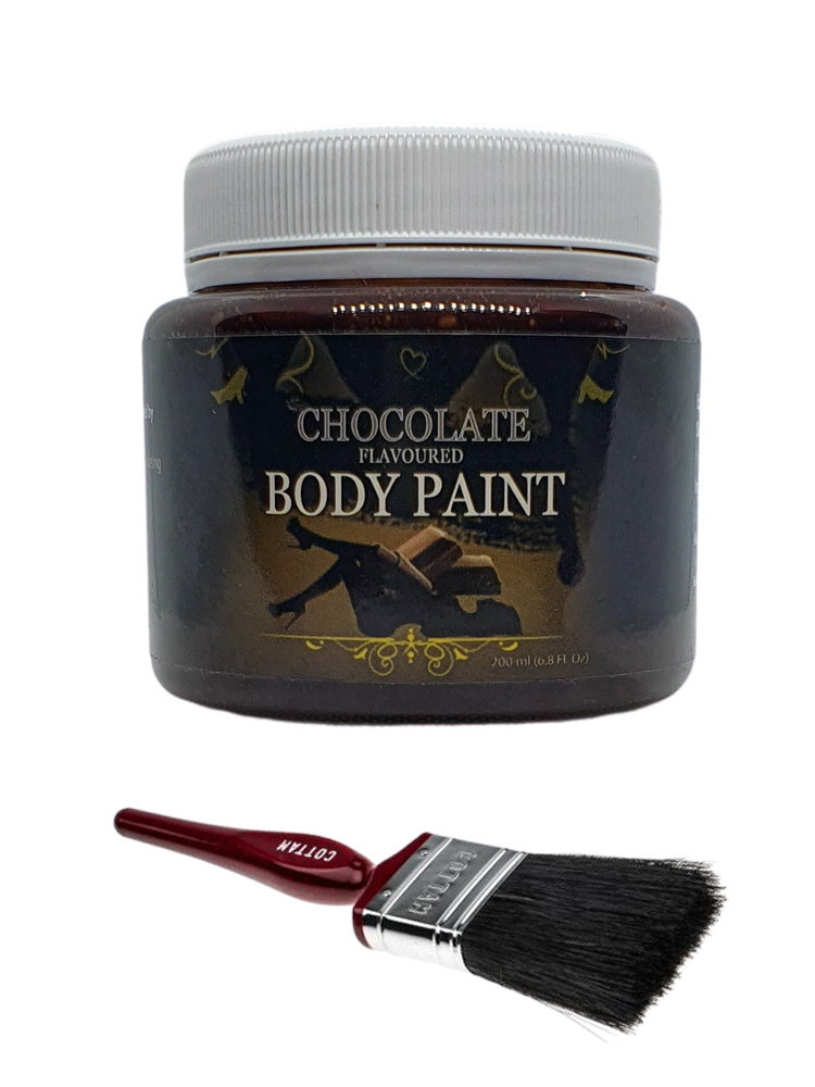 Edible Chocolate Flavoured Body Paint