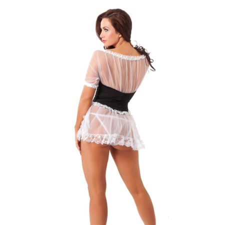 Rimba Amorable Maids Semi-transparent Dress