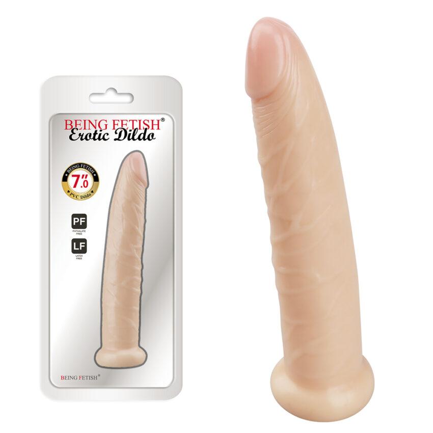 "Being Fetish Erotic Dildo 6.89"""