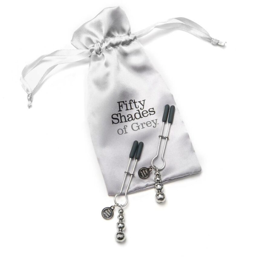 Fifty Shades Adjustable Nipple Clamps The Pinch