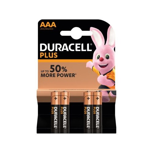 Duracell Battery AAA 4 Pack