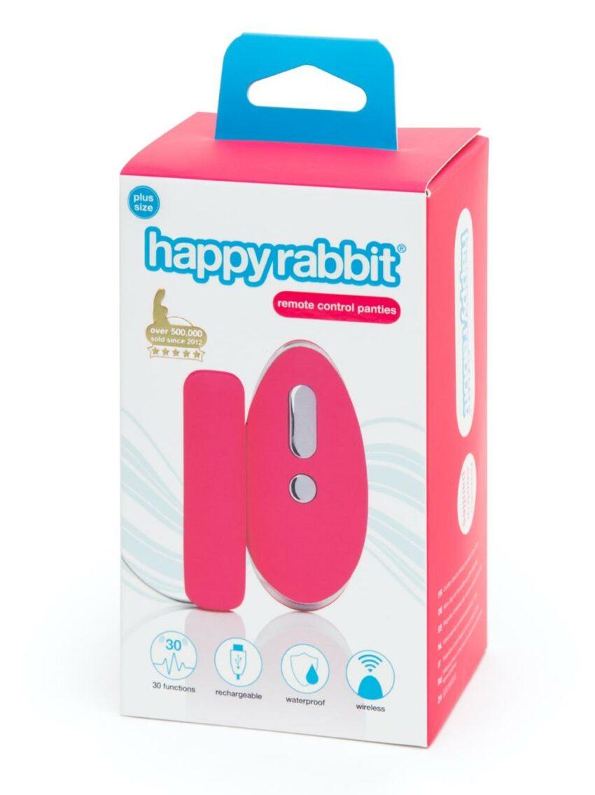 Lovehoney Happy Rabbit Plus Size Remote Knicker Vibrator