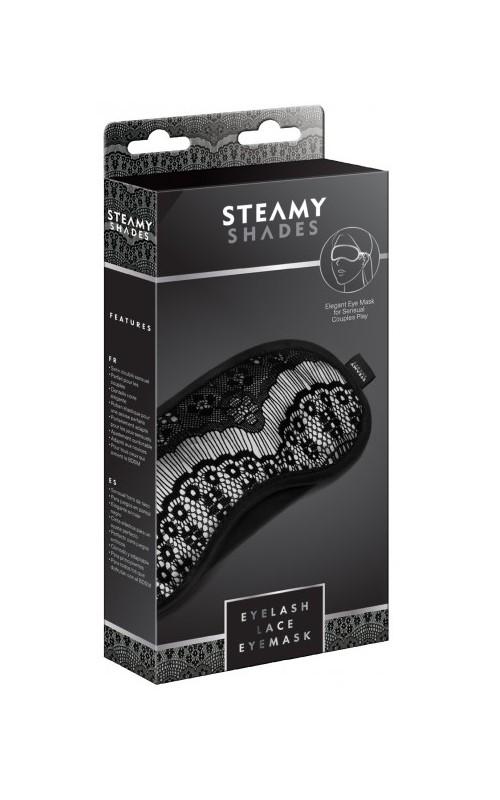 Steamy Shades Eyelash Lace Eyemask