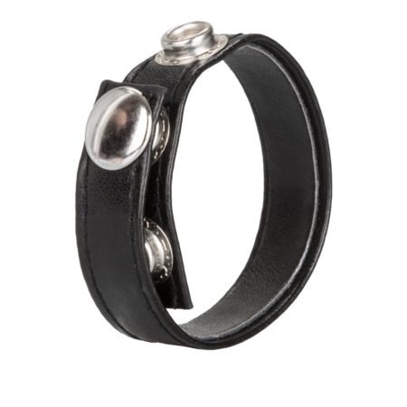 Calexotics Leather 3 Snap Ring