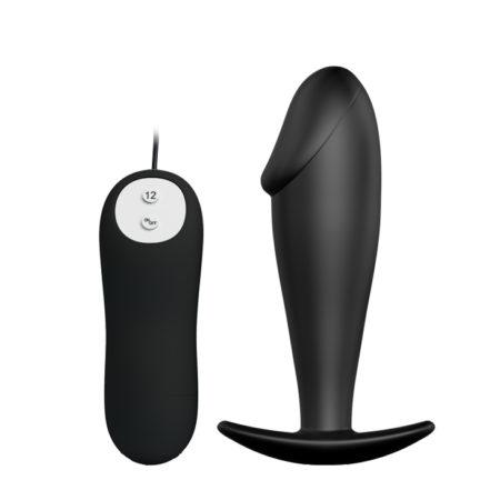 Pretty Love Vibrating Penis Shaped Butt Plug