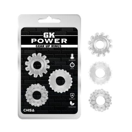 GK Power Gear Up Rings