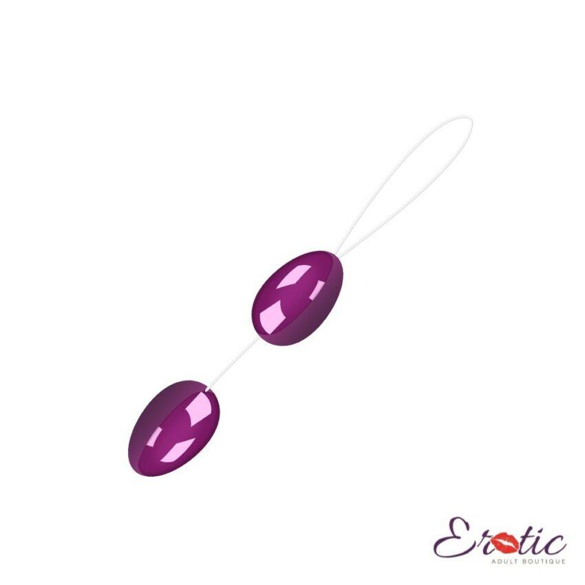 Baile Twin Eggs Anal Beads
