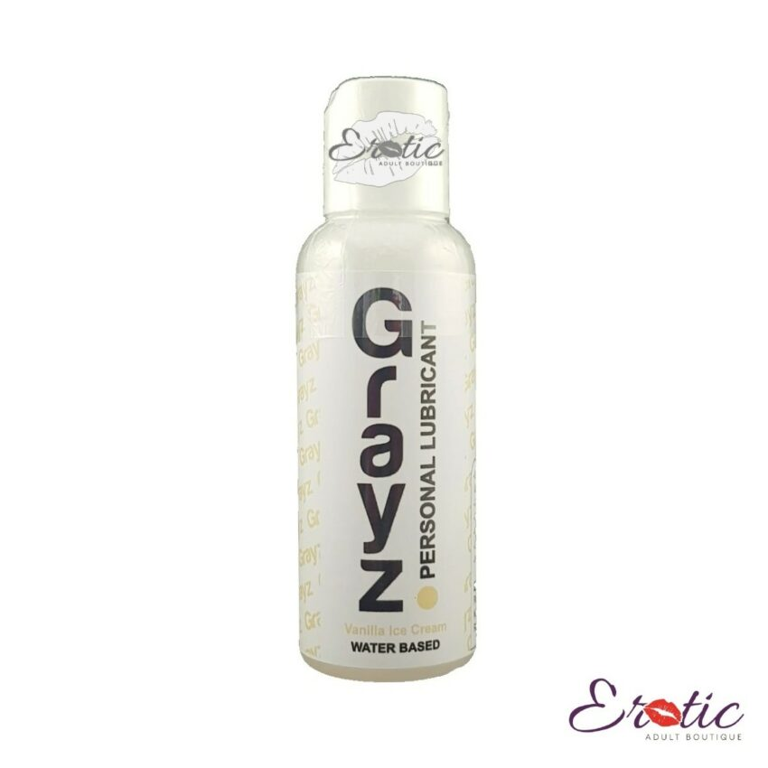 Grazy Vanilla Ice Cream Water Based 100ml