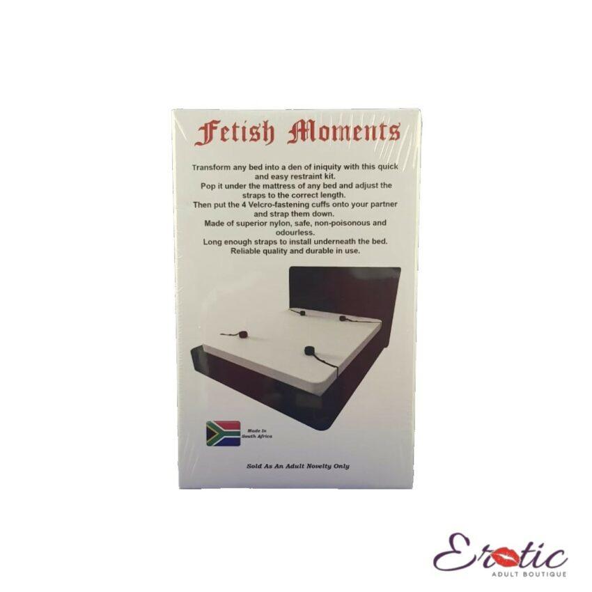 Fetish Moments Under Bed Strap Set